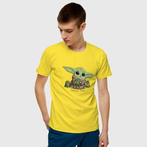 Мужская футболка хлопок Время перекуса Фото 01