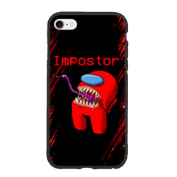 Чехол для iPhone 6Plus/6S Plus матовый AMONG US - MONSTER