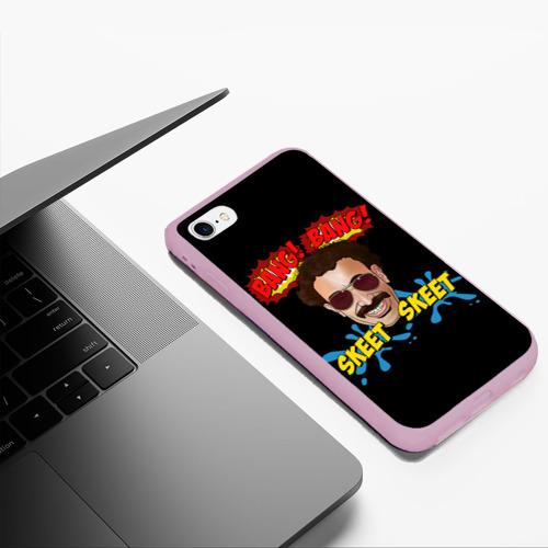 Чехол для iPhone 6Plus/6S Plus матовый Борат Фото 01