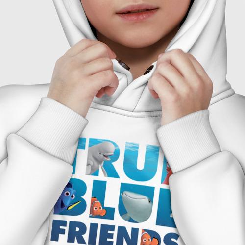 Детское худи Oversize хлопок True Blue Friends Фото 01