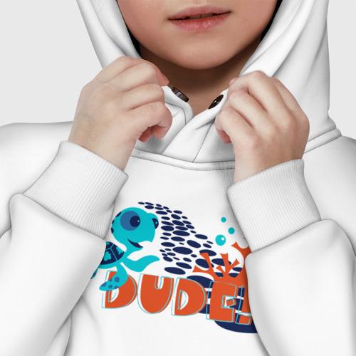 Детское худи Oversize хлопок Dude Фото 01