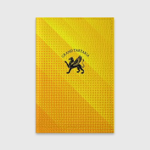 Обложка для паспорта матовая кожа Символика Тартарии Фото 01