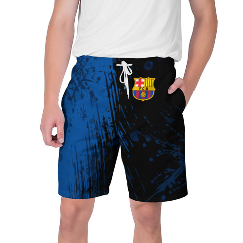 Мужские шорты 3D FC Barcelona \ ФК Барселона. Фото 01