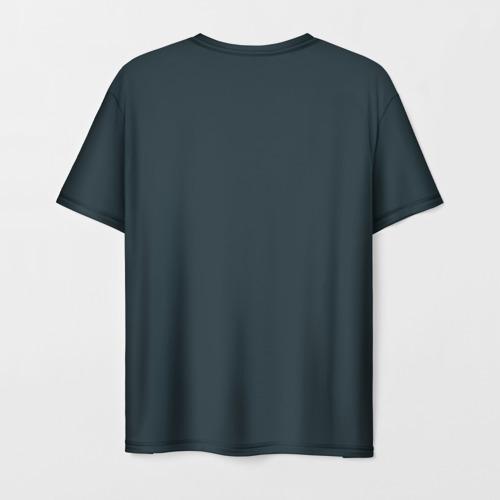 Мужская футболка 3D Куда я, туда и он Фото 01
