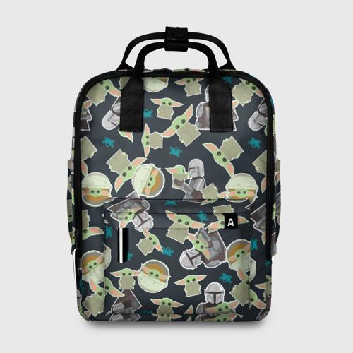 Женский рюкзак 3D Малыш  Фото 01