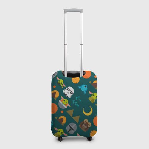 Чехол для чемодана 3D Звездный мир Фото 01