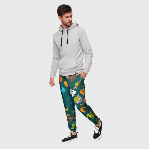 Мужские брюки 3D Звездный мир Фото 01