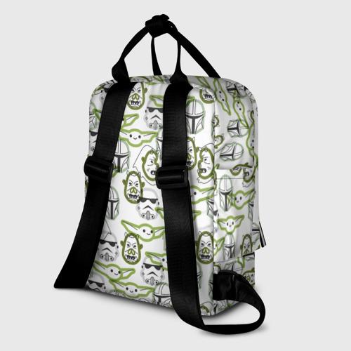 Женский рюкзак 3D Звездные войны Фото 01