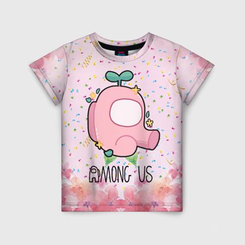 Детская футболка 3D Among Us girl Фото 01