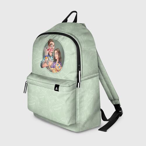 Мятный рюкзачок