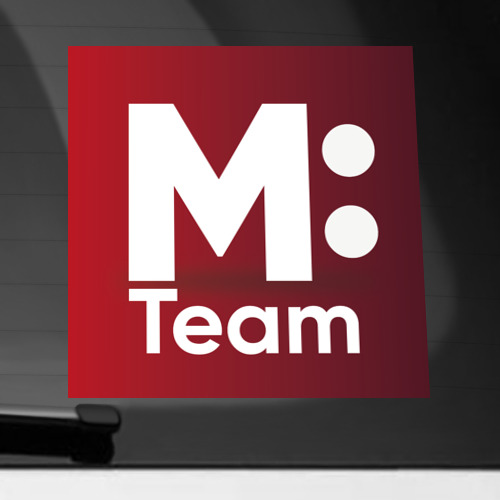 Наклейка на автомобиль M: Team Фото 01