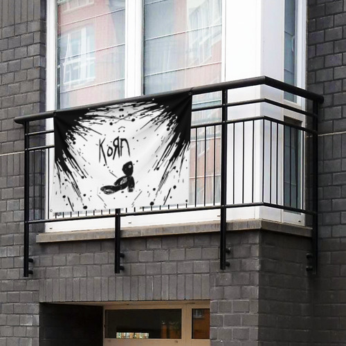Флаг-баннер korn Фото 01