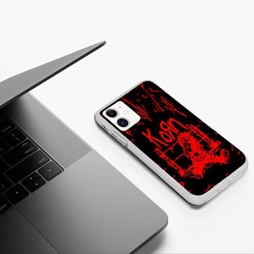Чехол для iPhone 11 матовый korn Фото 01