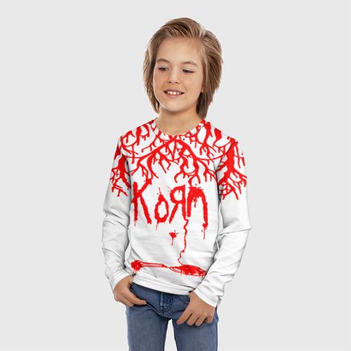 Детский лонгслив 3D korn Фото 01