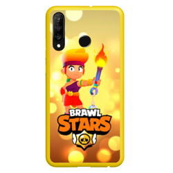 Чехол для Honor P30 Lite Amber - Brawl Stars