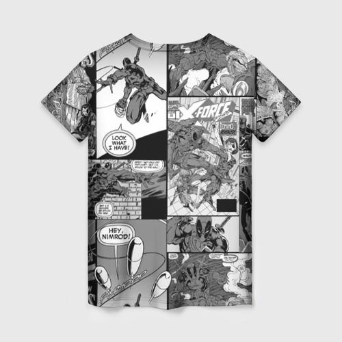 Женская футболка 3D Deadpool Фото 01