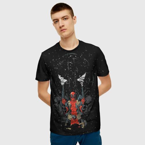 Мужская футболка 3D Deadpool Фото 01