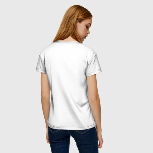Женская футболка 3D Hand Фото 01
