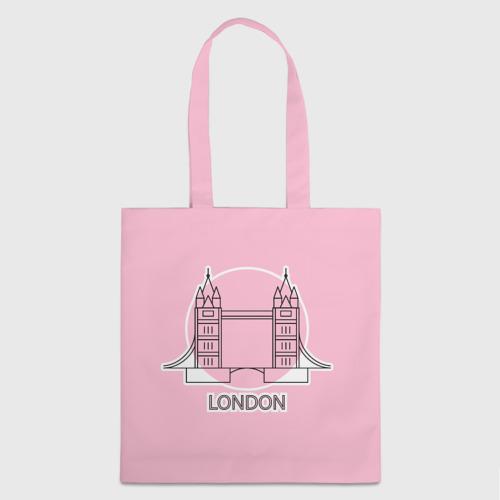 Шоппер 3D Лондон London Tower bridge Фото 01