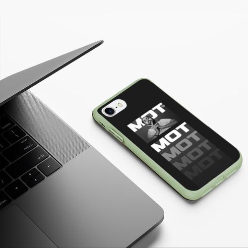 Чехол для iPhone 7/8 матовый МОТ Фото 01