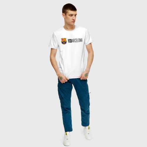 Мужская футболка хлопок Barcelona FC Фото 01