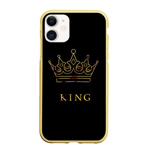 Чехол для iPhone 11 матовый KING Фото 01