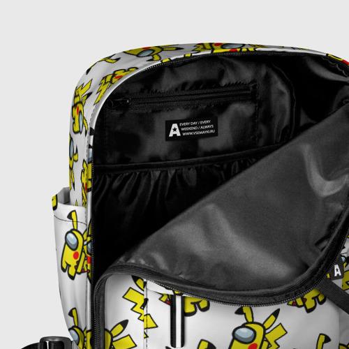 Женский рюкзак 3D Among us Pikachu Фото 01