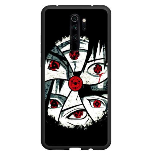 Чехол для Xiaomi Redmi Note 8 Pro Глаза Учих Фото 01