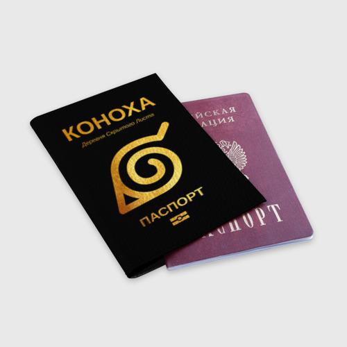 Обложка для паспорта матовая кожа КОНОХА Фото 01