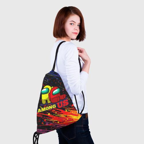 Рюкзак-мешок 3D AMONG US. Фото 01