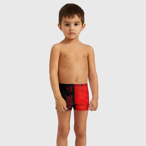 Детские купальные плавки 3D Among Us (В кармашке) Фото 01