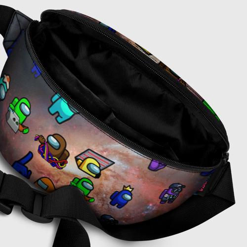 Поясная сумка 3D Among Us Чёрная дыра Фото 01