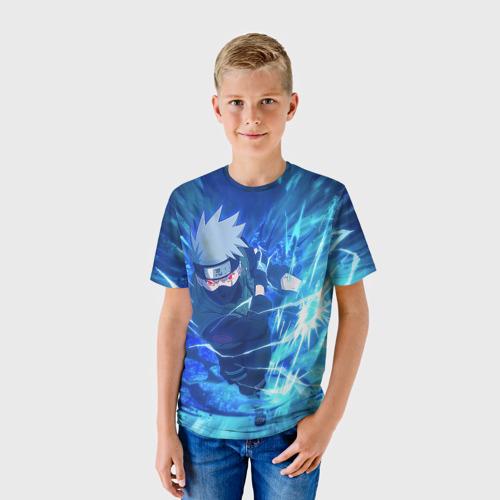 Детская футболка 3D Какаши Наруто Фото 01
