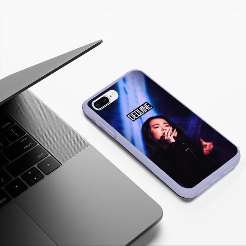 Чехол для iPhone 7Plus/8 Plus матовый Dequine Фото 01