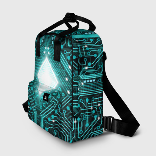 Женский рюкзак 3D Схема Фото 01