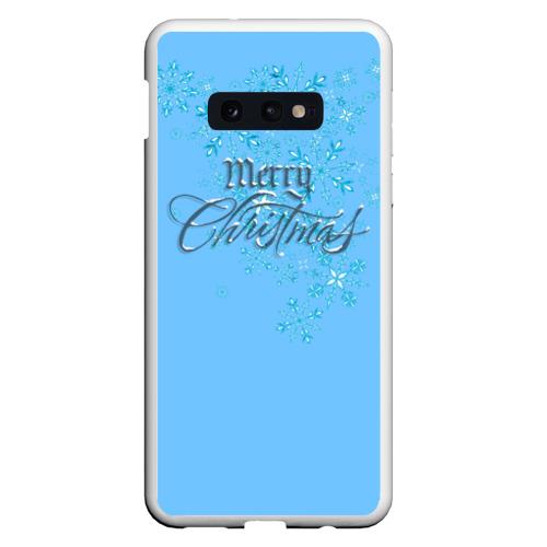 Чехол для Samsung S10E Счастливого рождества Фото 01