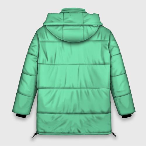 Женская зимняя куртка Oversize Кофеловер Фото 01