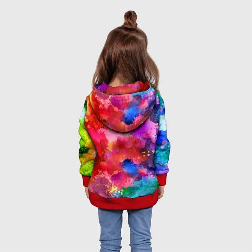 Детская толстовка 3D Брызги красок  Фото 01