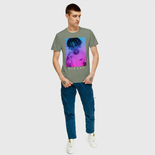 Мужская футболка хлопок Kizaru Vaporwave Фото 01