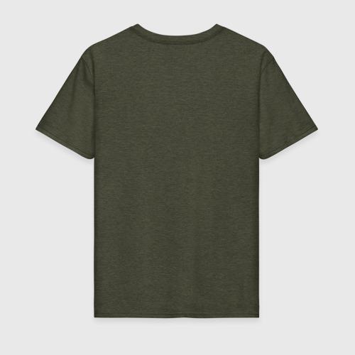 Мужская футболка хлопок Сонная ноябрьская Фото 01