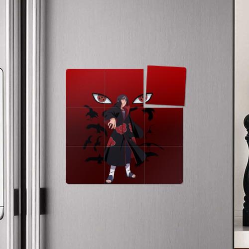 Магнитный плакат 3Х3 Итачи Учиха Фото 01