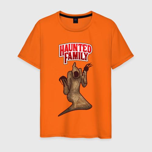Мужская футболка хлопок HAUNTED FAMILY Фото 01