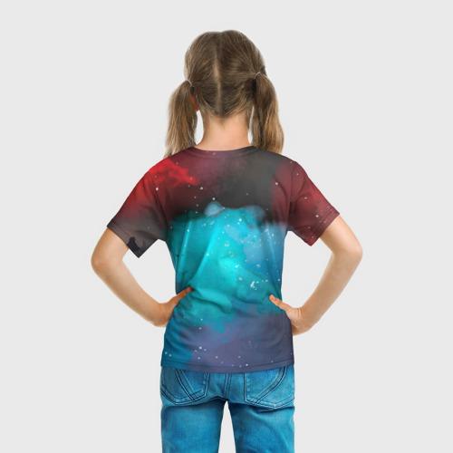 Детская футболка 3D BRAWL STARS LOU. Фото 01