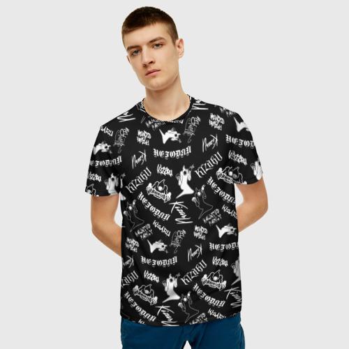 Мужская футболка 3D KIZARU / HAUNTED FAMILY Фото 01
