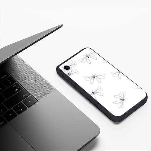 Чехол для iPhone 7/8 матовый Букашки Фото 01