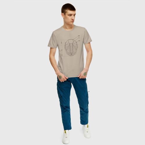 Мужская футболка хлопок трилобит Фото 01