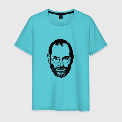 Мужская футболка хлопок Стив Джобс Фото 01