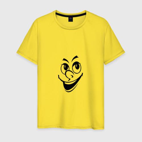 Мужская футболка хлопок Улыбка Фото 01