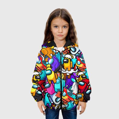 Детская куртка 3D AMONG US Фото 01