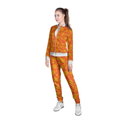Женская олимпийка 3D Helloween Pumpkin - Хеллоуин Фото 01